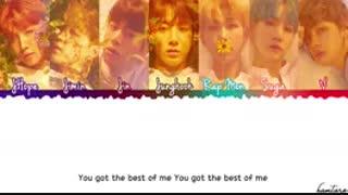 آهنگ BEST OF ME به همراه لیریک از BTS