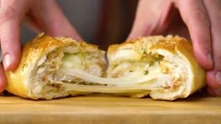 ساندویچ مرغ پنیری