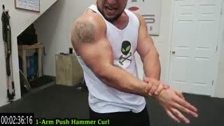 تمرین جلو بازو(قسمت دوم)