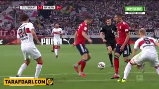 خلاصه بازی اشتوتگارت 0-3 بایرن مونیخ
