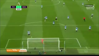 خلاصه لیگ برتر: منچسترسیتی ۲-۱ نیوکاسل