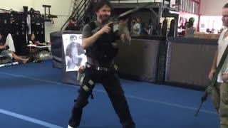 آموزش نظامی کیانو ریوز برای فیلم JOHN WICK