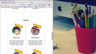 ساخت یک وب سایت ریسپانسیو با  css و html بخش 1