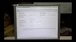 نحوه تست گرفتن از دستگاه HP StoreEasy 1450 Storage