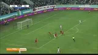 خلاصه بازی دوستانه: ازبکستان ۰-۱ ایران