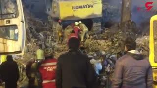 تنها خبر خوش از حادثه پلاسکو