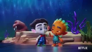 دانلود انیمیشن سریالی  ابر هیولاها -  Super Monsters