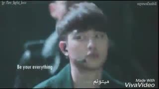 Im only humanبا زیرنویس فارسی ویدیو بی زیر نویسو توی چنل گزاشته بودم..اهنگش از زبون اعضای اکسوعه