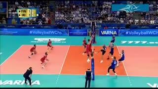 خلاصه بازی ایران 3 - فنلاند 2 (قهرمانی جهان 2018)