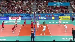 خلاصه بازی بلغارستان 3 - ایران 0 (قهرمانی جهان 2018)