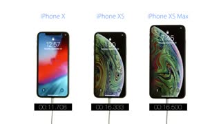 مقایسه سرعت بوت iPhone XS و iPhone XS MAX مقابل iPhone X
