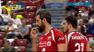 خلاصه بازی ایران 0 - آمریکا 3 (قهرمانی جهان 2018)