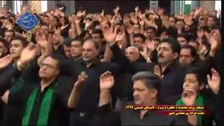 عزاداری هیئت مصلی عتیق یزد در روز تاسوعا|بخش اول|مسجد روضه محمدیه(حظیره)یزد|محرم 1397