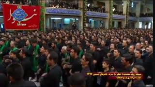 عزاداری هیئت نینوای صفاییه یزد در روز تاسوعا|بخش آخر|مسجد روضه محمدیه(حظیره)یزد|محرم 1397