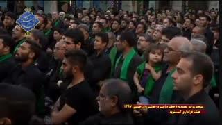 عزاداری هیئت کسنویه یزد در روز عاشورا|بخش سوم|مسجد روضه محمدیه(حظیره)یزد|محرم 1397