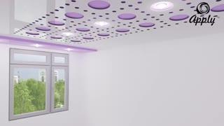 طراحی و نصب سقف کشسان اپلای