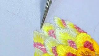 گلدوزی آناناس