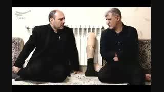 تجلیل فرمانده بسیج شهرک ولیعصر از سید جلال روغنی جانباز 70 درصد دوران دفاع مقدس