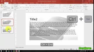 Shortcut keys msPowerpoint_part7