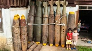 روستای ساخته شده با بمبهای آمریکایی