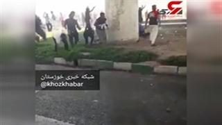 حمله به پلیس در اهواز به درگیری مرگبار انجامید!