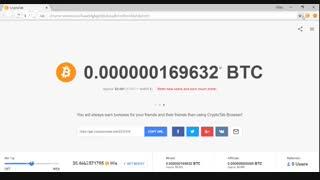 آموزش بیت کوین رایگان با crypto tab,میلیونر شو ,ثبت نام با لینک پایین