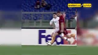 3 گل برتر ادین ژکو در لیگ قهرمانان اروپا با پیراهن رم