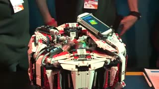 رکورد سریع ترین ربات پرینت سه بعدی شده مکعب روبیک در سال2014