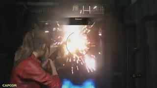 30 از گیم پلی Resident Evil 2 با محوریت شخصیت Claire