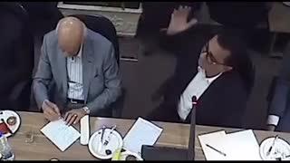 انتقادات تند یک تاجر به وزیر صمت در اتاق بازرگانی