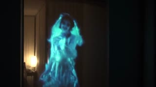 استفاده از تکنولوژی هولوگرافیک برای جشن هالووین