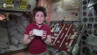 از هیجانات فضانورد شدن