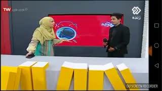 مصاحبه زنده علی اشرفی راد ( داداشم) در برنامه تلویزیونی شبکه دو