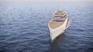 این کشتی تفریحی 106 متری می تواند نامرئی شود