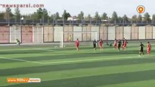 خلاصه بازی لیگ یک: مس رفسنجان 3-3 پرسپولیس پاکدشت