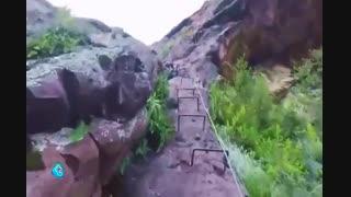 400 متر خواب راحت برای صخره نوردی