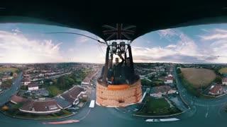 ویو 360 از پرواز برفراز بریستول