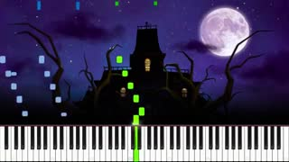 Luigi's Mansion Theme (Nightmare Edition) Piano Tutorial