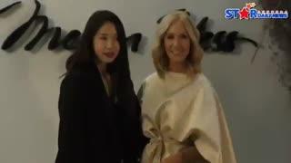 نفس بی نام(پارک شین هه)در مراسم Megan Hess سئول امروز 2018 FULL HD کمیاب ویدیو کامل