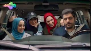 سکانس فیلم دشمن زن : خسرو (سام درخشانی) در محاصره دلبری دوستان روشنک