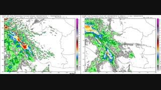 پیش بینی تحولات بارندگی بر روی کشور طی 138 ساعت آینده منتهی به چهارشنبه 4 آبان 97