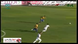 خلاصه بازی: ماشین سازی 1-1 نفت مسجدسلیمان