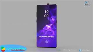 معرفی طرح اولیه گوشی سامسونگ note10