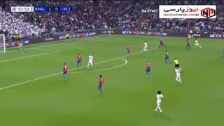 خلاصه بازی رئال مادرید 2-1 ویکتوریا پلژن