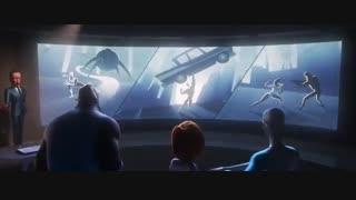 تریلر انیمیشن Incredibles 2 2018