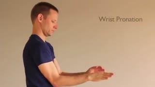 چند ورزش ساده جهت تقویت عضلات مچ دست و انگشتان