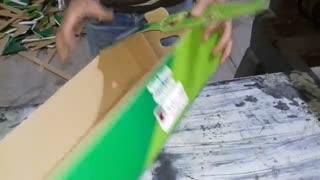 جعبه میوه صادراتی تولید شده در صنایع کارتن سازی، چاپ و بستهبندی آوین
