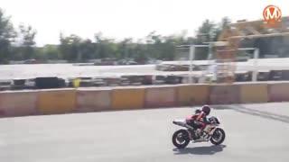 اوج هیجان و سرعت دراولین راند مسابقات موتور سرعت 97