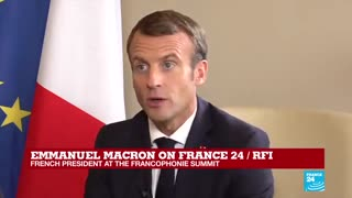 F24 exclusive: France's Macron calls disappearance of Saudi journalist 'very serious'